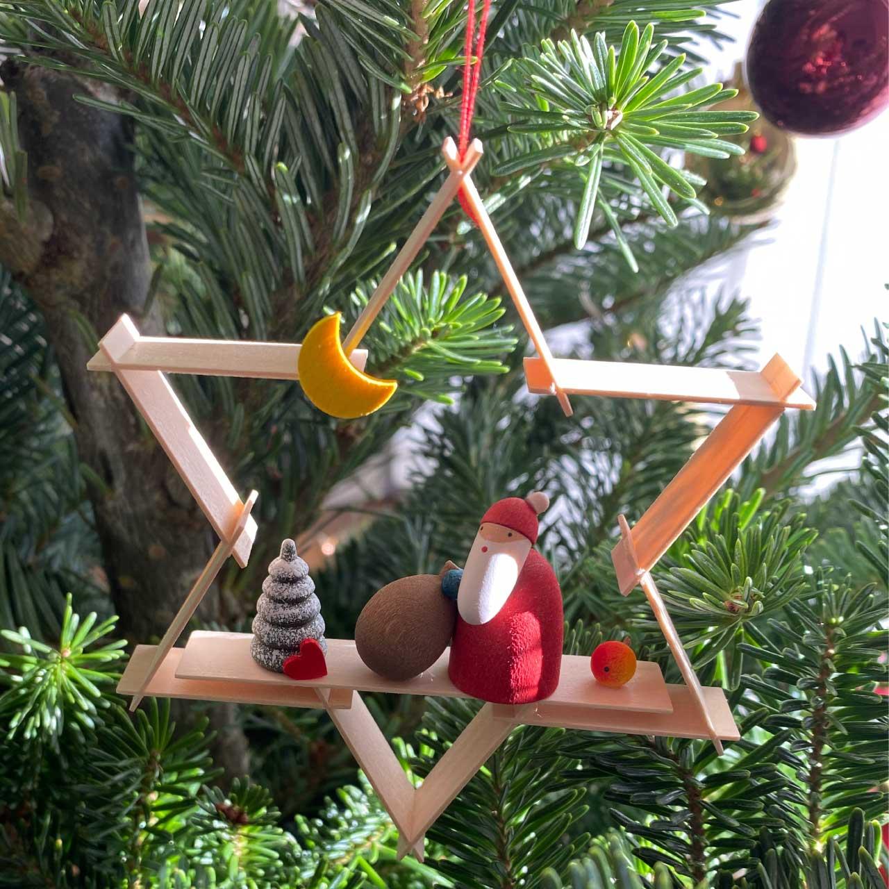 ギュンターライヒェル クリスマスツリーデコレーション サンタクロース