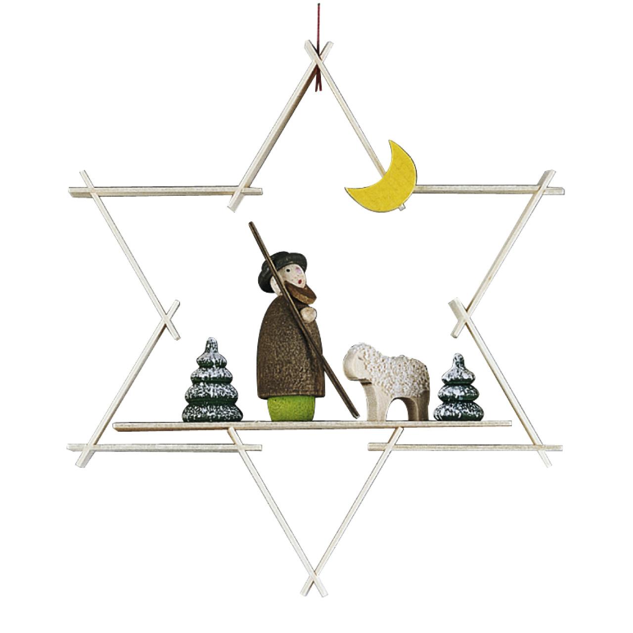 ギュンターライヒェル クリスマスツリーデコレーション 羊飼い
