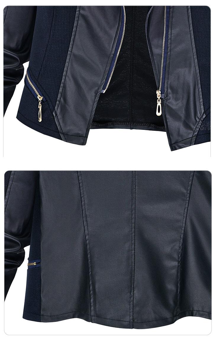 ライダースジャケット レディース ライダース ジャケット 異素材 ミックス アウター おしゃれ