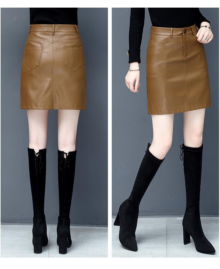 ラムレザー スカート ペンシルスカート タイトスカート レディース シンプルデザイン 本革 skirt ミニスカート 皮スカート 光沢感