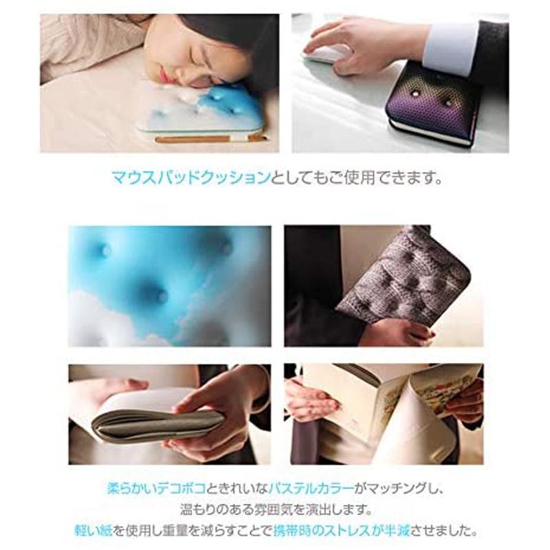 LighTreeドリーミィー まくら クッション ノート【チョコワッフルSサイズ】