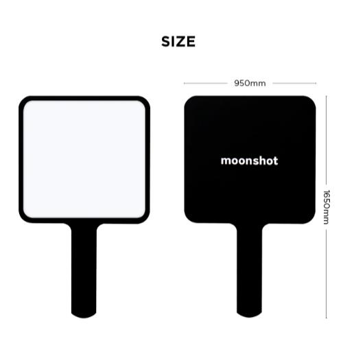 moonshot (ムーンショット) スクエアハンドミラー