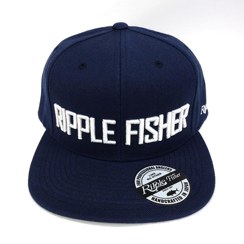 RippleFisher Original フラットバイザーキャップ