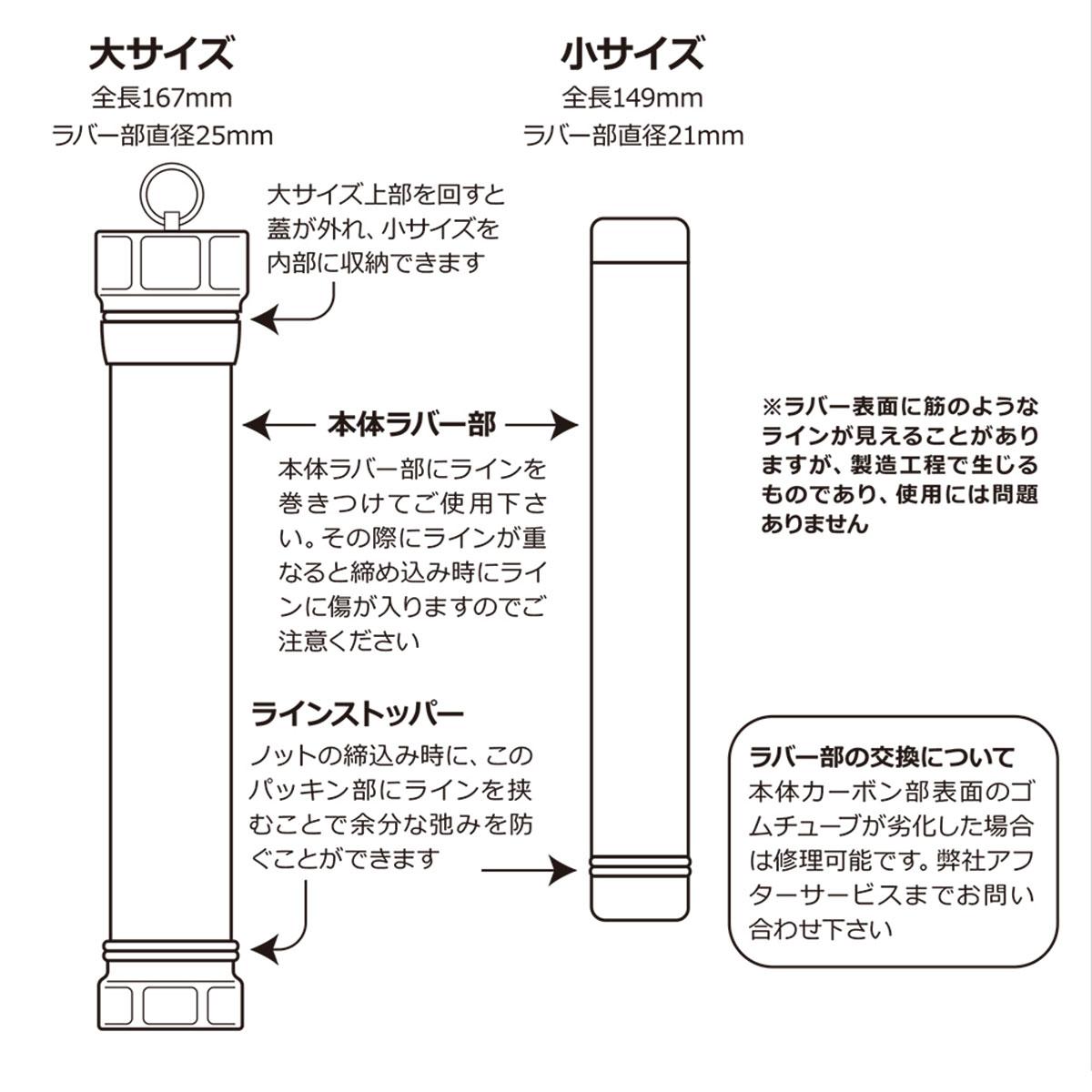 RF ノットタイトナー(大小2本セット)