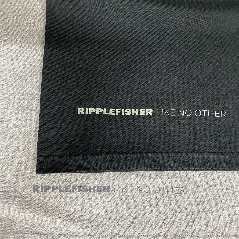 RippleFisher Original ヘヴィーウェイト ロングスリーブ Tシャツ