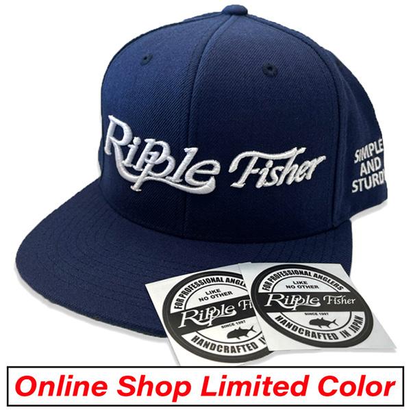 RippleFisher Original フラットバイザーキャップ-2021 オンラインショップ限定カラー