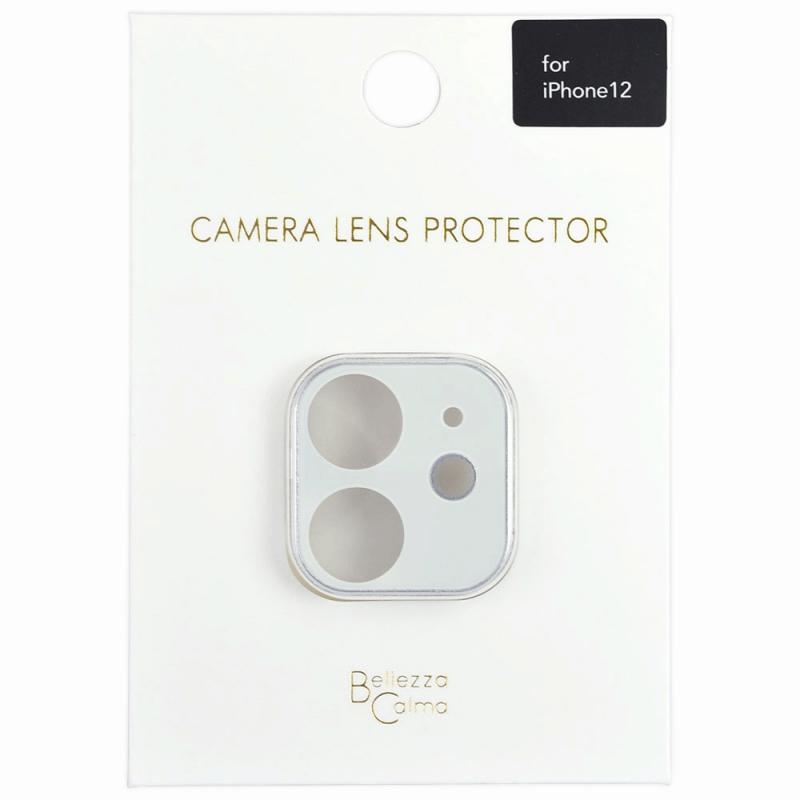 【Bellezza Calma】iPhone 12 カメラ保護ガラス WH  Bellezza Calma[ベレッツァカルマ]