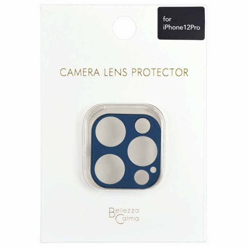 【Bellezza Calma】iPhone 12 Pro カメラ保護ガラス PB  Bellezza Calma[ベレッツァカルマ]