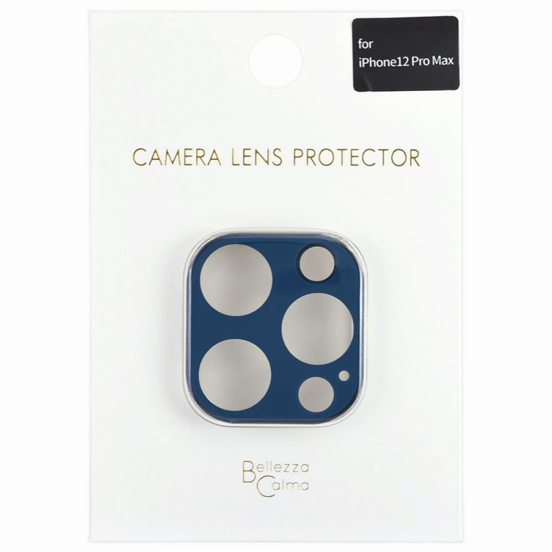 【Bellezza Calma】iPhone 12 Pro Max カメラ保護ガラス PB  Bellezza Calma[ベレッツァカルマ]