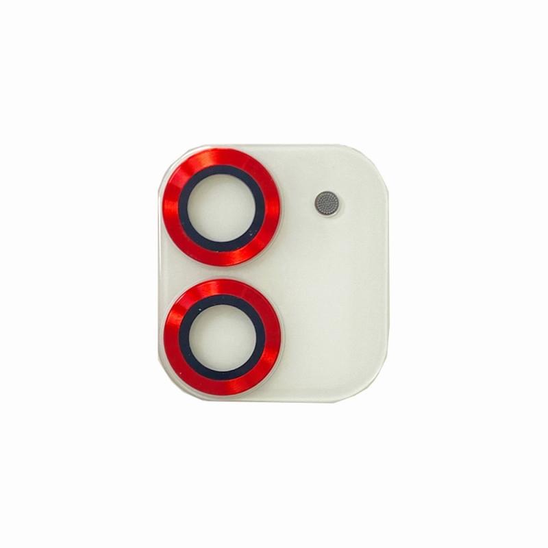【Bellezza Calma】iPhone 12 mini Highgradeカメラ保護ガラス RD