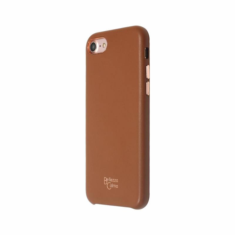 【Bellezza Calma】LOLLY CASE iPhone8/7 BROWN