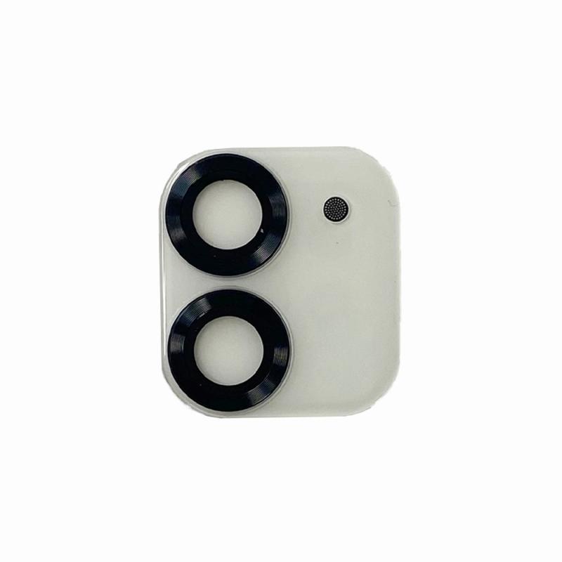 【Bellezza Calma】iPhone 12 Highgradeカメラ保護ガラス BK