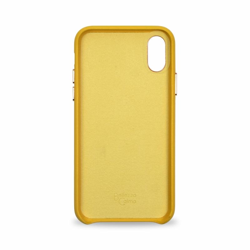【Bellezza Calma】LOLLY CASE iPhoneXs/X YELLOW