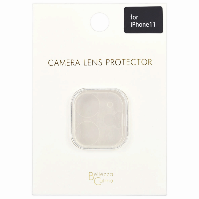 【Bellezza Calma】iP11 カメラ保護ガラス CL  Bellezza Calma[ベレッツァカルマ]