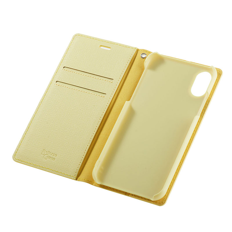【Bellezza Calma】2 Tone for iPhone X/XS Yellow