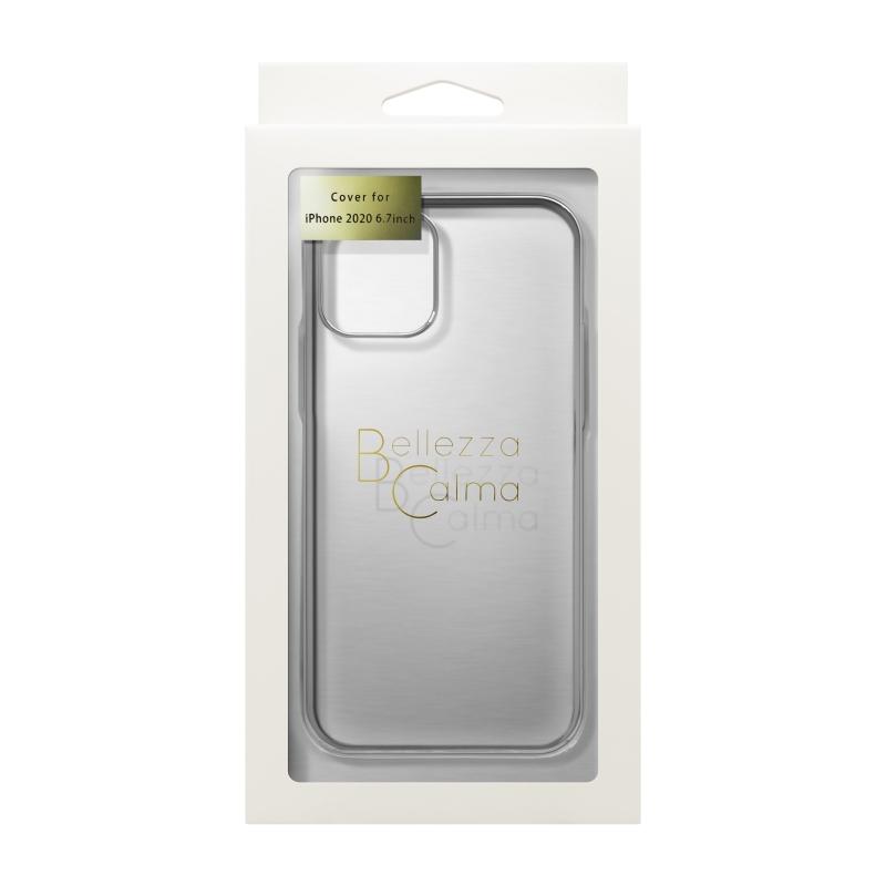 【Bellezza Calma】サイドメッキ iPhone 2020(6.1)SV  Bellezza Calma[ベレッツァカルマ]