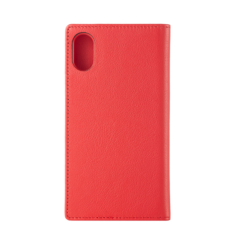 【Bellezza Calma】iPhoneX/xs Leather Red