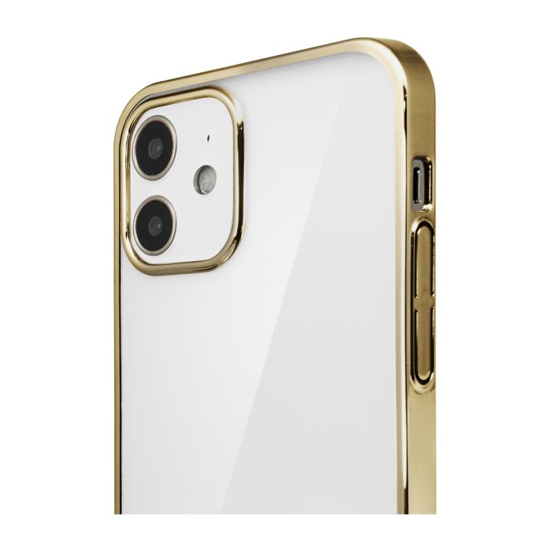 【Bellezza Calma】サイドメッキ iPhone 2020(6.1)GD  Bellezza Calma[ベレッツァカルマ]