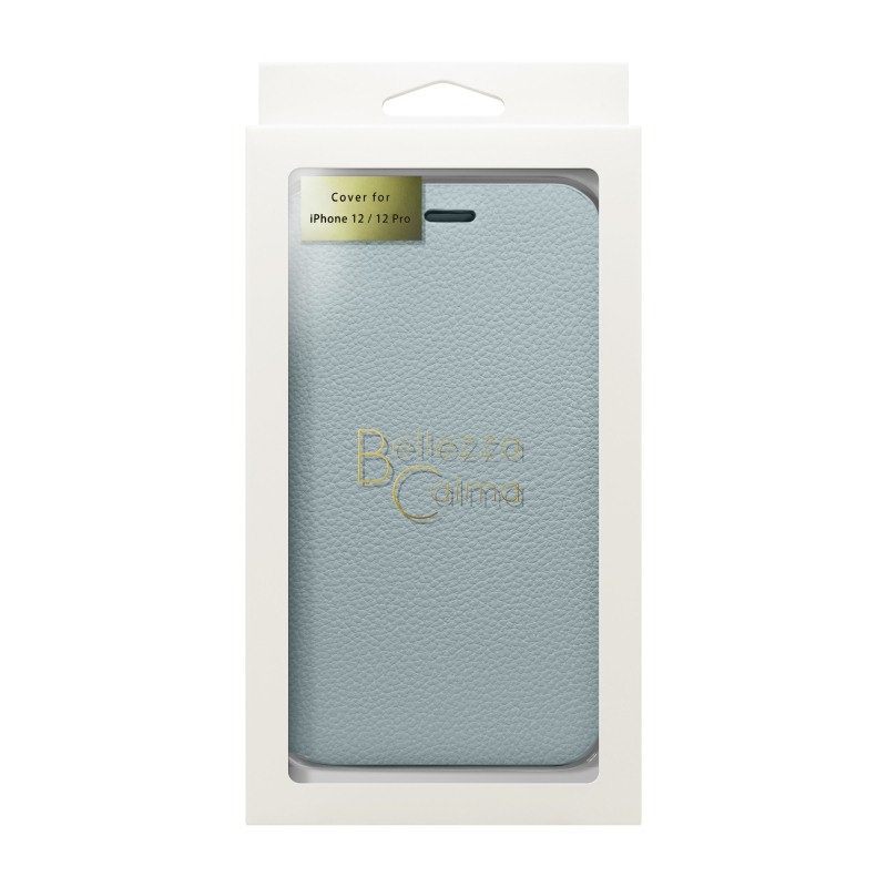 【Bellezza Calma】スタンド型手帳ケース(6.1)MistyGray  Bellezza Calma[ベレッツァカルマ]