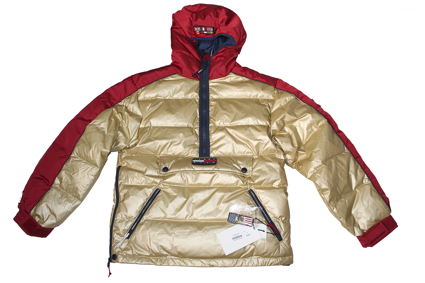 KITH X TOMMY HILFIGER PUFFER JACKET
