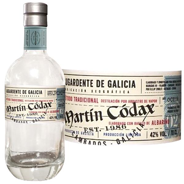 オルホ・デ・ガリシア・ブランカ(マーティン・コダック) 700ml>Orujo de Galicia Blanca