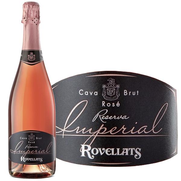 ロベジャ・ロゼ・ブリュット・レセルバ>Rovellats Rose Brut Reserva