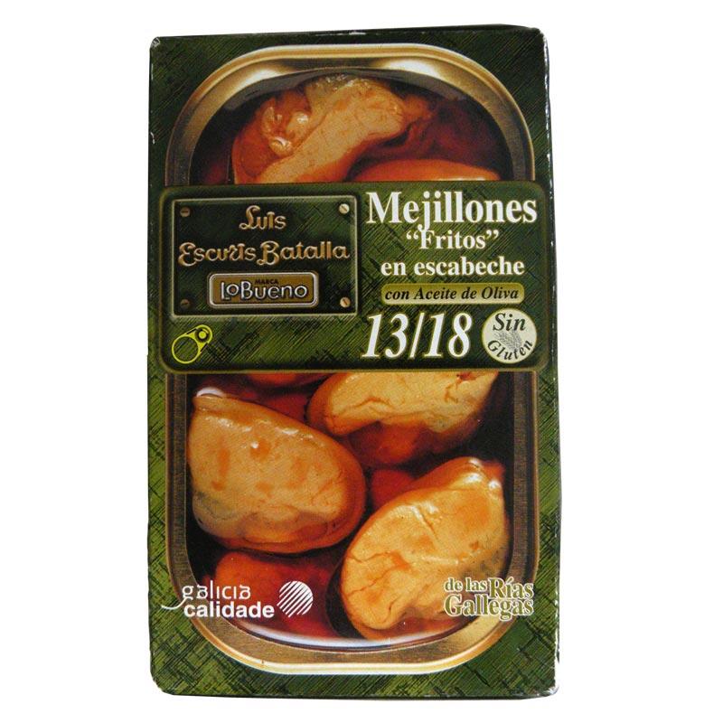 【新商品】ムール貝のエスカベッシュ  Mejillones en escabeche