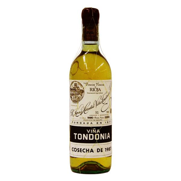 トンドニア・ブランコ・グラン・レセルバ>Tondonia Blanco Gran Reserva