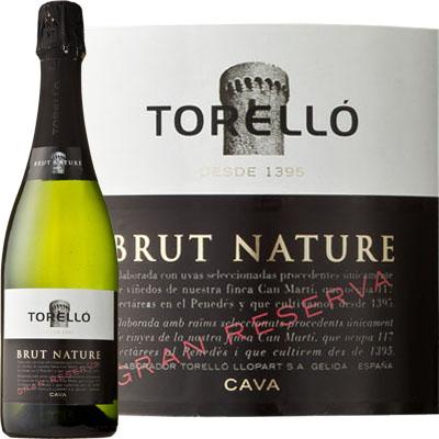 トレジョ・ブリュット・ナツレ 750ml>Torello Brut Nature 750ml