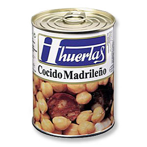 マドリッド風ひよこ豆煮込>Cocido Madrileno