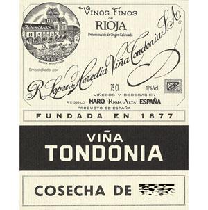 トンドニア・ティント・グラン・レセルバ '95>Tondonia Tinto Gran Reserva
