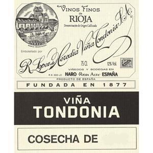 トンドニア・ブランコ・グラン・レセルバ 1987>Tondonia Blanco Gran Reserva 1987
