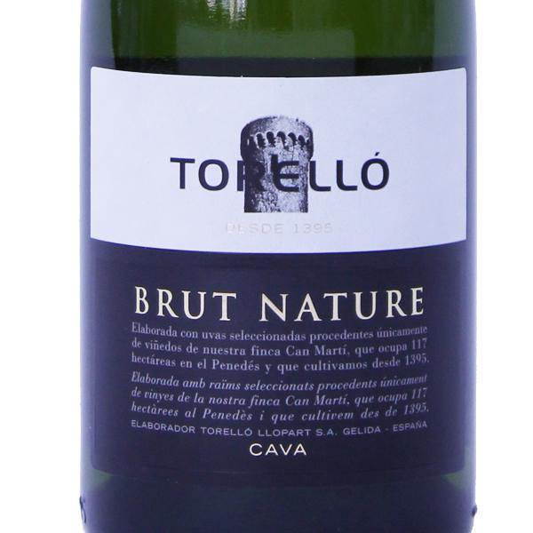 トレジョ・ブリュット・ナツレ 375ml>Torello Brut Nature 375ml