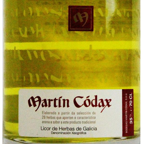 リコール・デ・イエルバス(マーティン・コダック)700ml>Licor de Hierbas