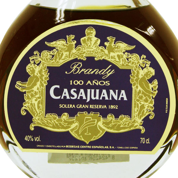 カサファナ 100年 700ml>Casajuana 100anos