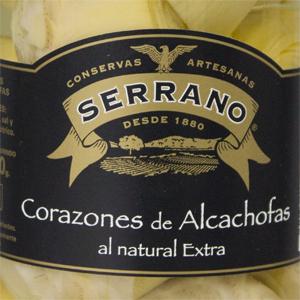 アーティチョーク水煮 瓶>Alcachofa Cristal