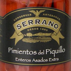 赤ピーマン(ピキージョ)瓶詰 290g>Piquillo Cristal 290g