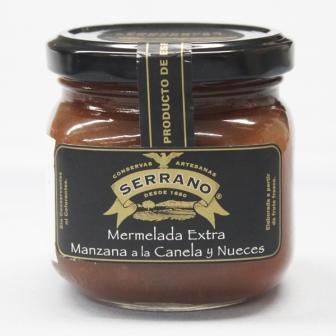 リンゴジャム(シナモン・クルミ入り)>Mermelada Extra Manzana a la Canela y Nueces