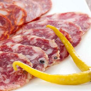 サルチチョン・イベリコ・ベジョータ スライス>Sliced Salchichon Iberico de Bellota