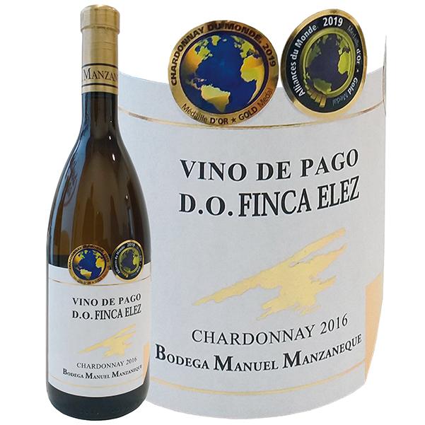 マンサネケ・シャルドネ>Manuel Manzaneque Chardonnay