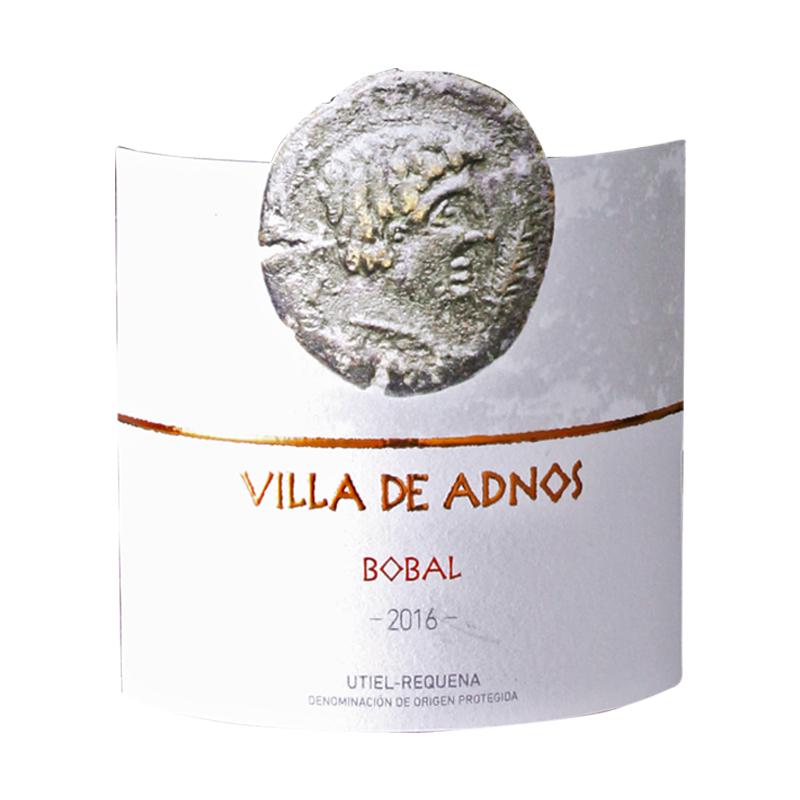 ヴィジャ・デ・アドノス・ボバル・ティント>Villa de Adnos Bobal Tinto