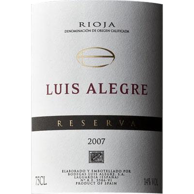 ルイス・アレグレ・レセルバ>Luis Alegre Reserva