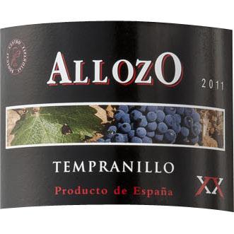 アジョッソ・テンプラリーニョ>Allozo Tempranillo