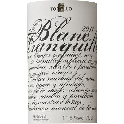 トレジョ・ブランク・トランキジェ>Torello Blanc Tranqulle