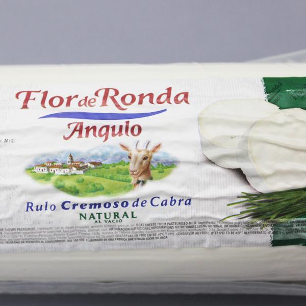 ケソ・デ・カブラ ルロ 約700g>Rulo Cremoso de Cabra 700g