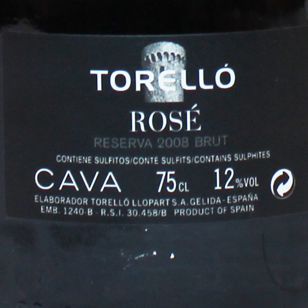 トレジョ・ブリュット・ロゼ 750ml>Torello Brut Rose