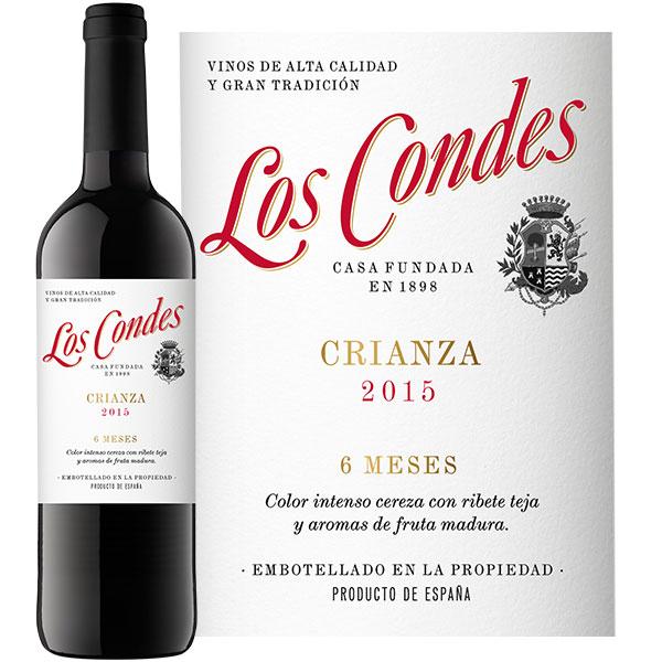 ロス・コンデス・クリアンサ>Los Condes Crianza