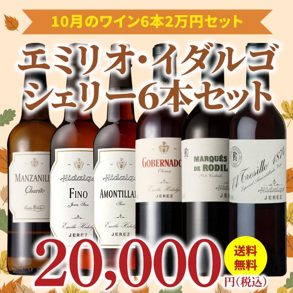 【39%OFF&送料無料】>10月におすすめのお得なワインセット>ワインアドバイザーが選ぶ6本2万円セット