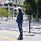 <受注生産>EGUMI HEART TRACK SUIT【NAVY】
