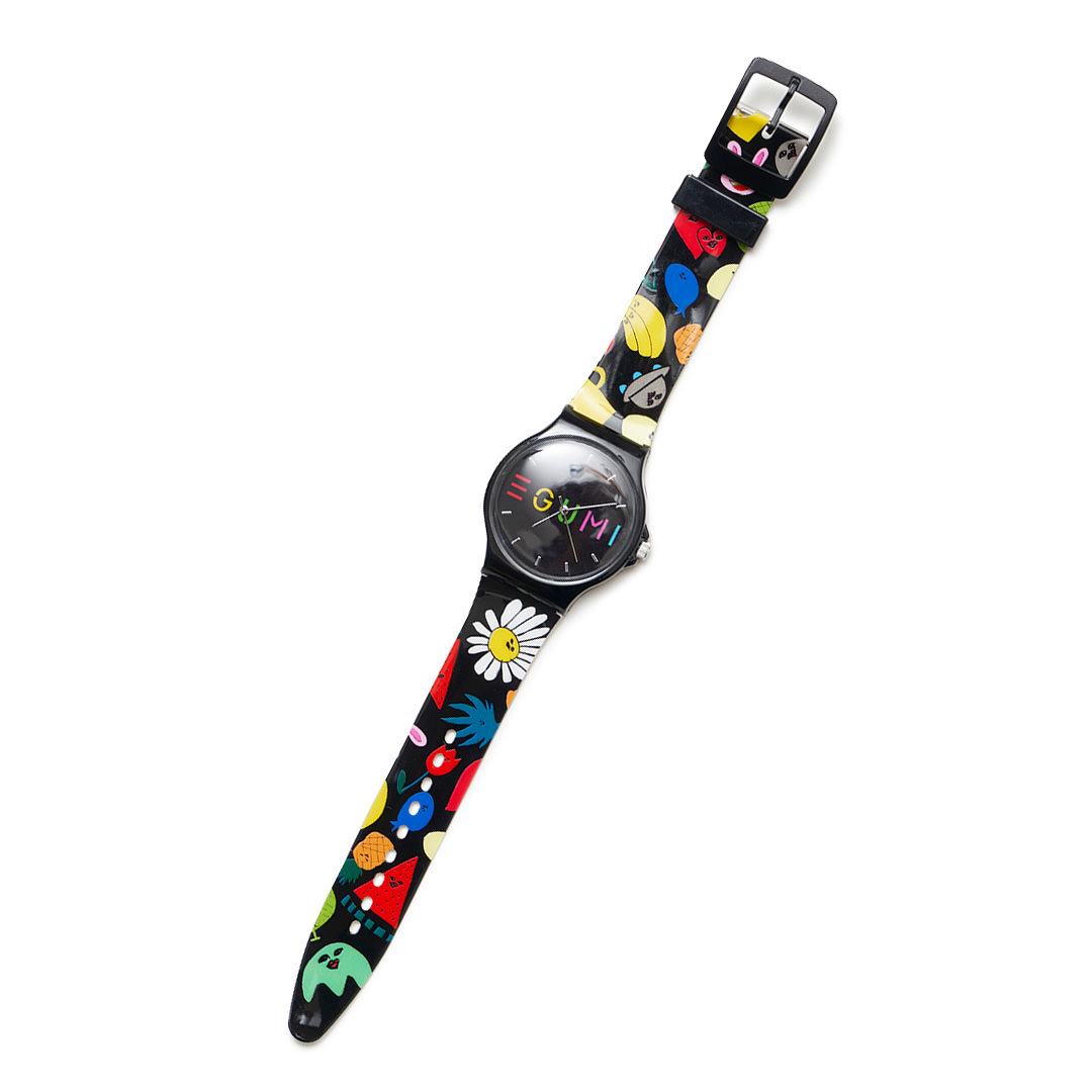 <受注生産>EGUMI ALL STARS WATCH【BLACK】